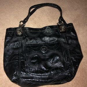 Coach logo Purse